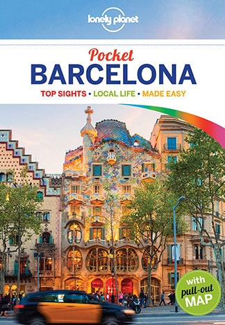 Barcelona Lonely Planet Guide book Jordan Banks