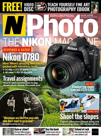 N Photo magazine cover