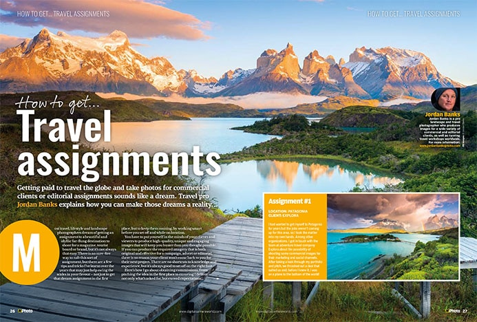 N Photo feature on travel photography