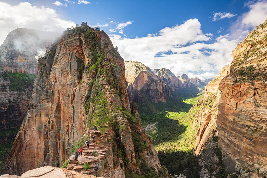 Angels landing in Photographing Zion National Park Guide