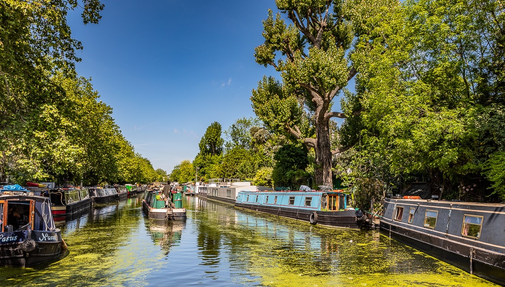 Little Venice London photography guide